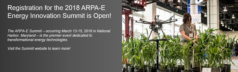 2018 ARPA-E Energy Innovation Summit Registration