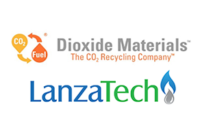Combined Logo for Dioxide Materials and LanzaTech