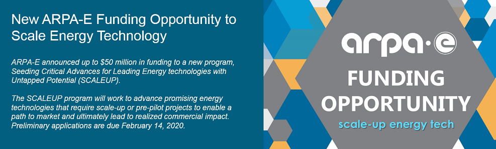 New ARPA-E Funding Opportunity to Scale Energy Technology