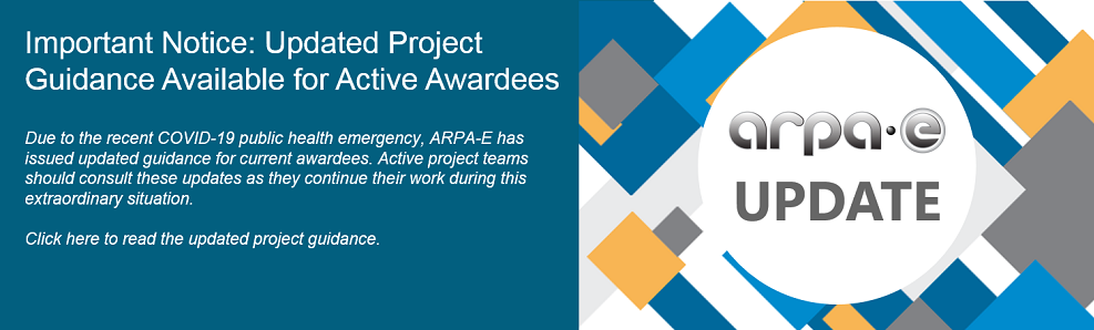 Important Notice: Updated Project Guidance Available for Active Awardees